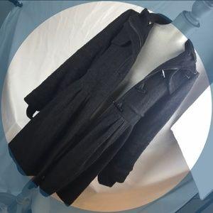 Forever 21 Hooded Winter Pea Coat